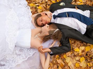 Вальс опадающих листьев или как хорошо, если у вас свадьба осенью