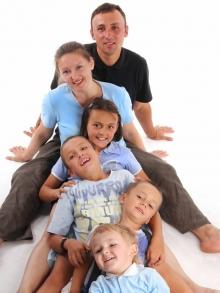 Многодетная семья Оренбуржья-2013